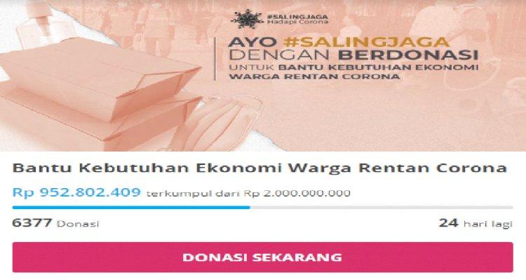 Bantu Ekonomi Warga Rentan Corona