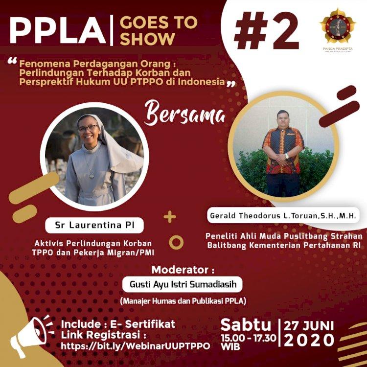 Webinar PPLA Goes To Show