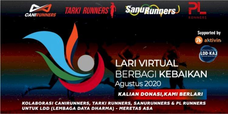 Ucapan Terima Kasih Atas Donasi Dalam Penggalangan Dana Lari Virtual Berbagi Kebaikan - LDD