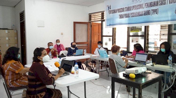 PERTEMUAN IRGSC: Model dan SOP Untuk Pemulangan dan Reintegrasi Sosial Korban TPPO